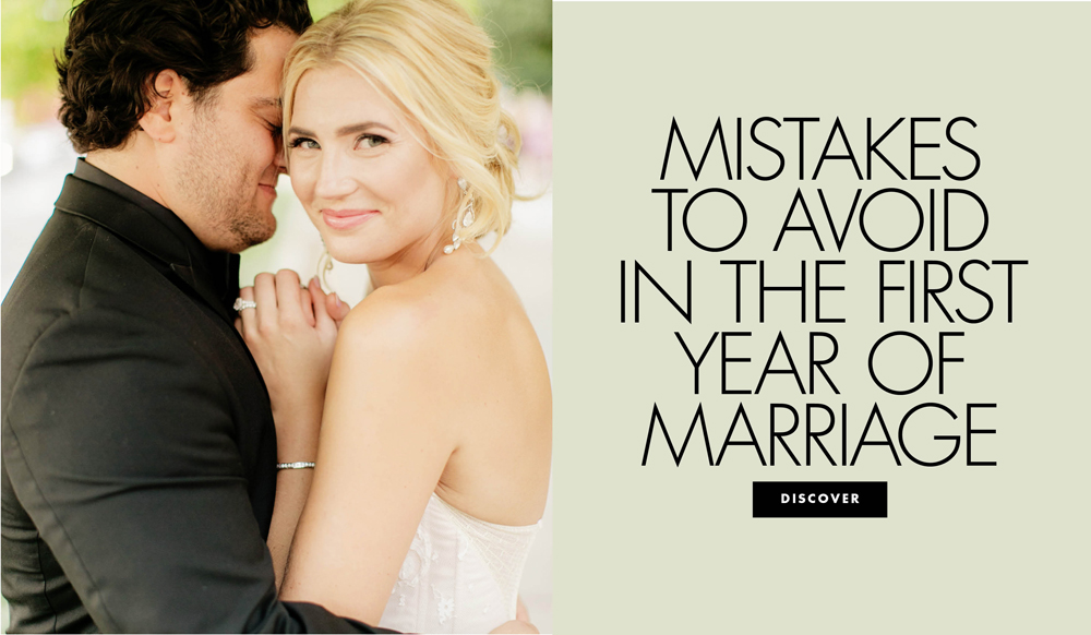Mistakes to Avoid in the First Year of Marriage