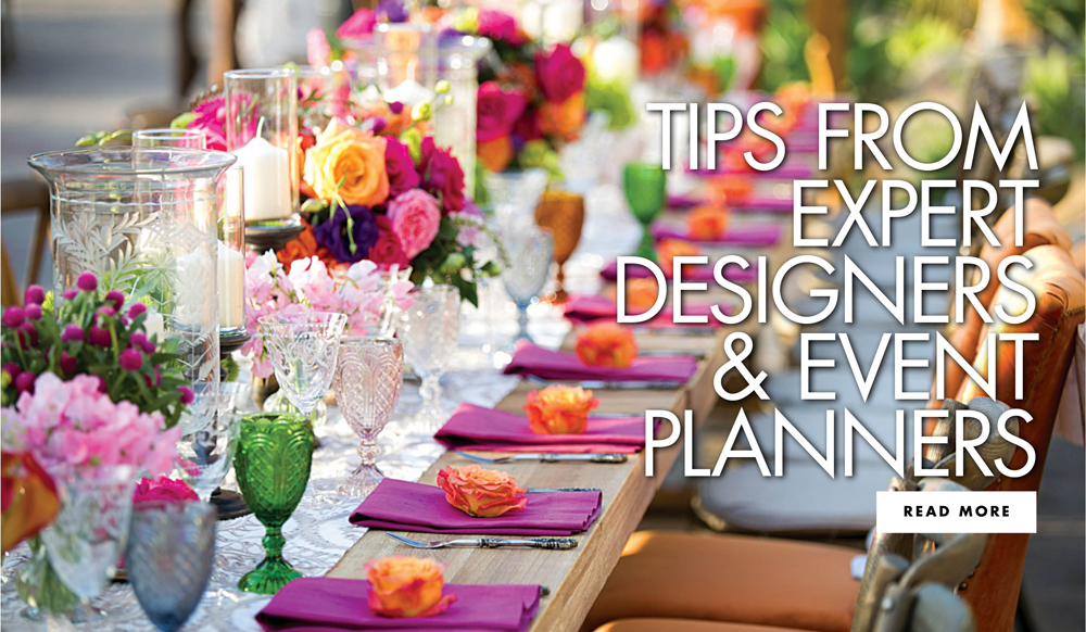 Insider Tips from the Nation's Top Wedding Professionals