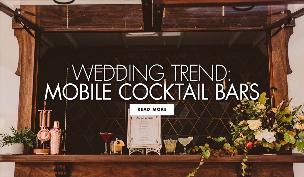 Signature Cocktail Ideas + The Latest Trend in Weddings