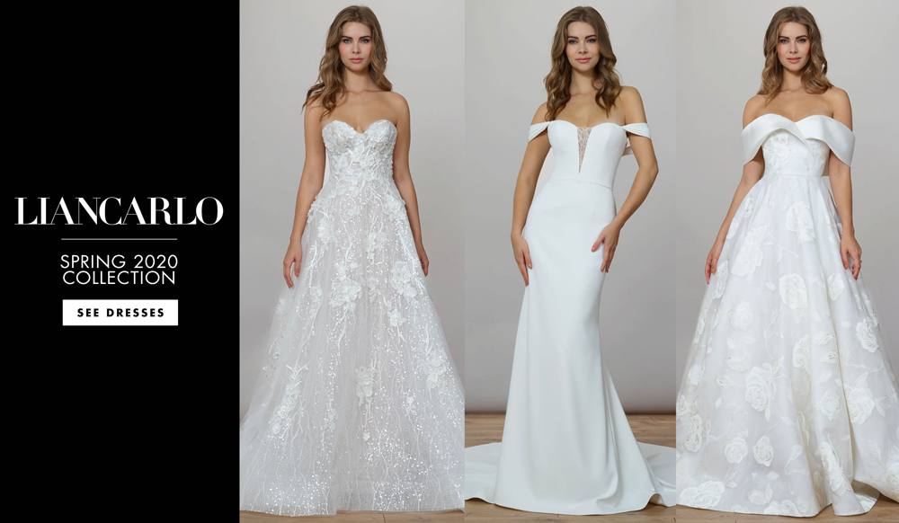 Whimsical & Feminine Bridal Gowns from Liancarlo Spring 2020