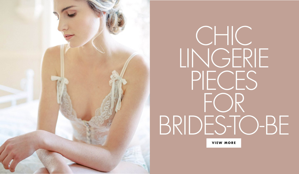 Romantic Intimates & Lingerie for Your Wedding Day
