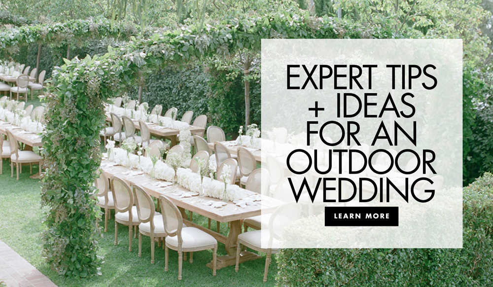 Outdoor Wedding Ideas: Tips from the Experts - Inside Weddings